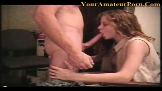 This couple sends us their private home sex video