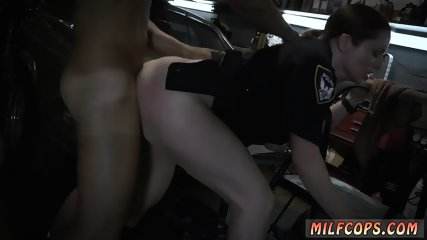 Big tit milf striptease Chop Shop Owner Gets Shut Down
