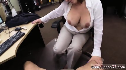 Straight blowjob and guy big dick Foxy Business Lady Gets Fucked!