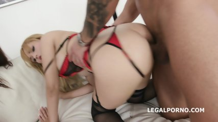 2on2 Gape Queens Anna de Ville & Natasha Teen (full on: analovers.webnode.hu/)