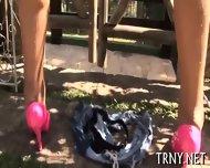 Teen Tranny Goes Absolutely Wild - scene 12