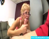 Blonde Spex Mature Hungry For Cock - scene 11