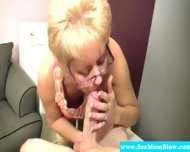 Blonde Spex Mature Hungry For Cock - scene 2