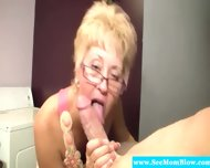 Blonde Spex Mature Hungry For Cock - scene 3