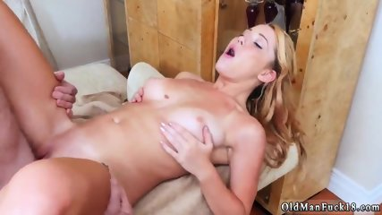 Old hairy milf Frannkie And The Gang Tag Team A Door To Door Saleswoman