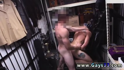 Straight guys caught in thongs gay Dungeon sir with a gimp