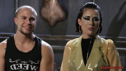 Kinky Mistress Pegging Her Asshole