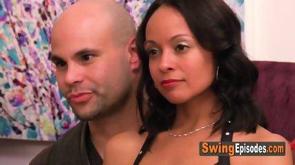 Matt and Alexis hope to add members to their full swap at the red room