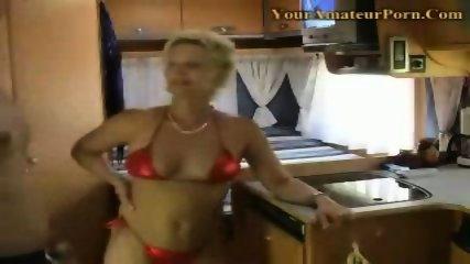 German couple fucking in a camping car - scene 1