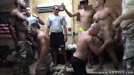 Gay medical exams for military The Troops came prepared to party!