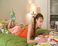 Nasty Homework Of Hot Teenager - scene 2