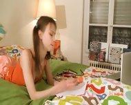 Nasty Homework Of Hot Teenager - scene 3