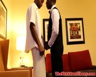 Gayblack Ebony Hunk Sucks And Fucked - scene 1