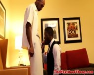 Gayblack Ebony Hunk Sucks And Fucked - scene 2