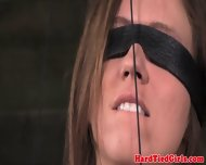 Gstring Tied Sub Gets Nipples Punished - scene 12