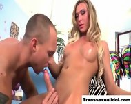 Ts Aubrey Kate Nails His Ass And Mouth - scene 11
