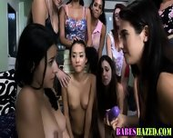 Sorority Teens Outdoors - scene 9