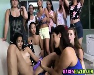Sorority Teens Outdoors - scene 11