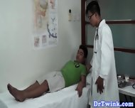 Twink Asian Patient Gets Anally Fingered - scene 2
