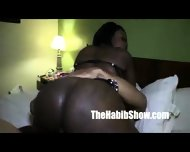 Phat Ass Ferrari Blaque Chocolate Banged By Redzilla - scene 1