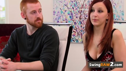 Timid couple has a blast while meeting others at the pool