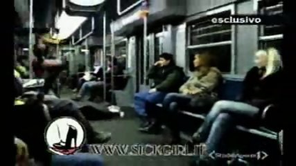 Lap dance in the train - scene 10