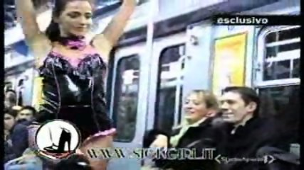 Lap dance in the train - scene 2