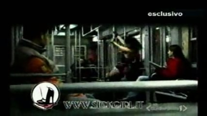 Lap dance in the train - scene 3