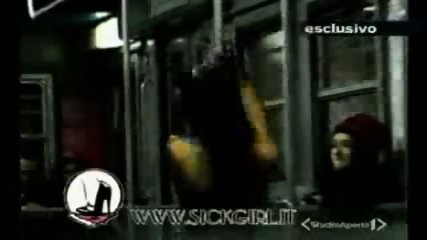 Lap dance in the train - scene 4