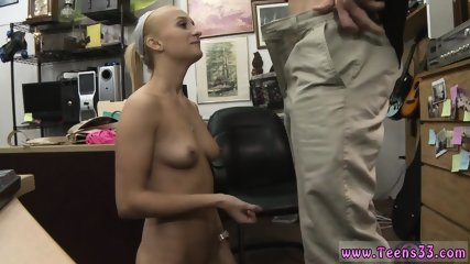 Sexy blonde bareback Stealing will only get you fucked!