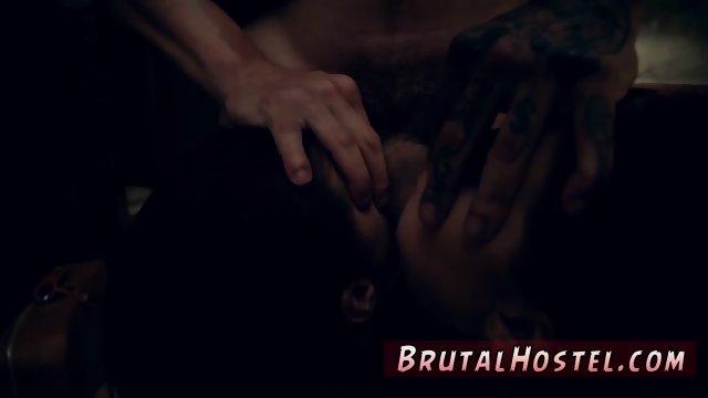 Brutal bondage and lust cinema A large messy facial cumshot popshot from her fresh