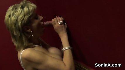 Unfaithful british milf lady sonia reveals her oversized jugs
