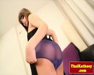 Glamour Thai Ladyboy Strips And Wanks