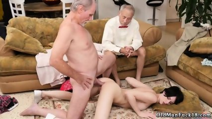 Old milf hairy fuck and first anal man Frannkie goes down the Hersey highway