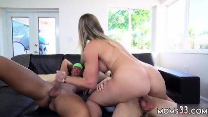 Brunette milf threesome hd and big tits blonde hard fuck xxx Stepmom Turns Wet Dreams
