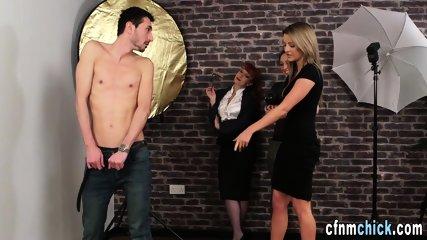 Cfnm brits boobs spermed