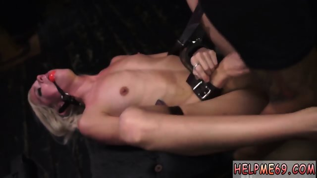Brutal petite gangbang Halle Von is in town on vacation with her boycomrade