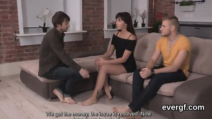 Broke fellow lets randy mate to plow his lover for hard cash