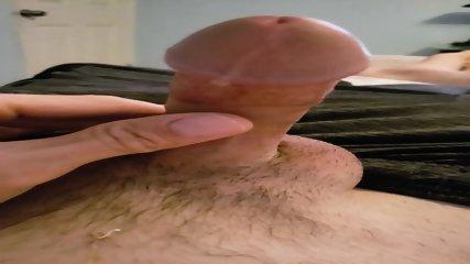 Cumshot from Vibrating Butt Plug