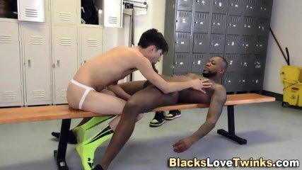 Black Guy Nails Teenager