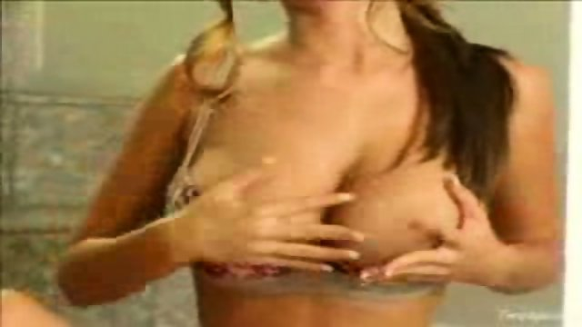 Shay Laren strips and touches herself