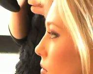 Nice Luciana posing - scene 1
