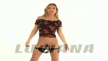 Nice Luciana posing - scene 9