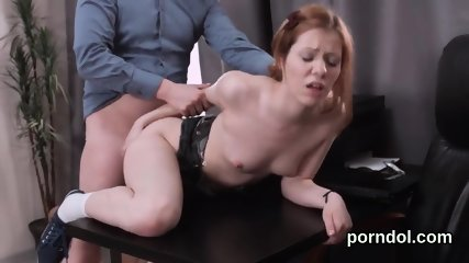 Lovely schoolgirl gets seduced and penetrated by aged mentor