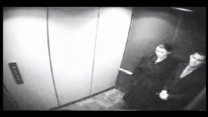 Secretary gives Blowjob In Elevator - scene 1
