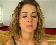 Anna Belle choking on huge Dicks - scene 1