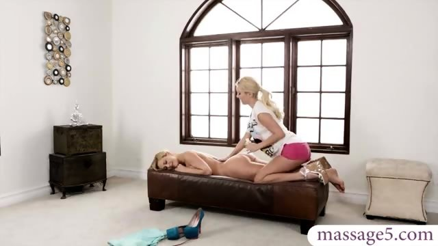 Big Tits Step Mom And Step Daughter Sexual Massage Session