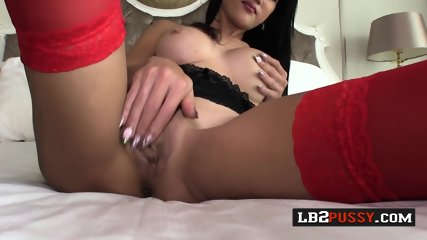 Naughty shemales have the hottest threesome with horny lover