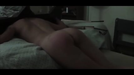 Hard spanking for her till she cry!