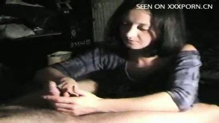 Hot handjob - part 1 - scene 9